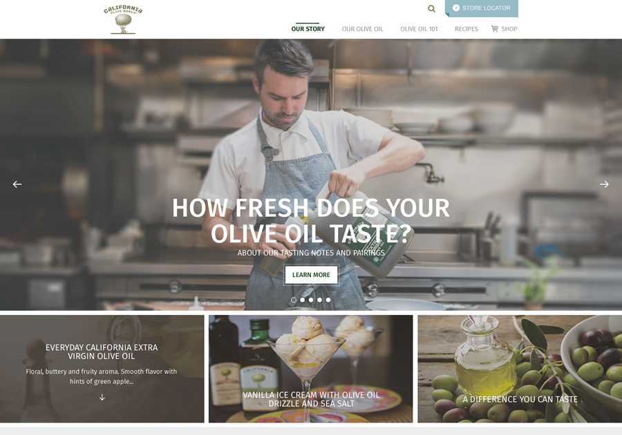 A great web design by Thomas Digital Design, San Francisco, CA:
