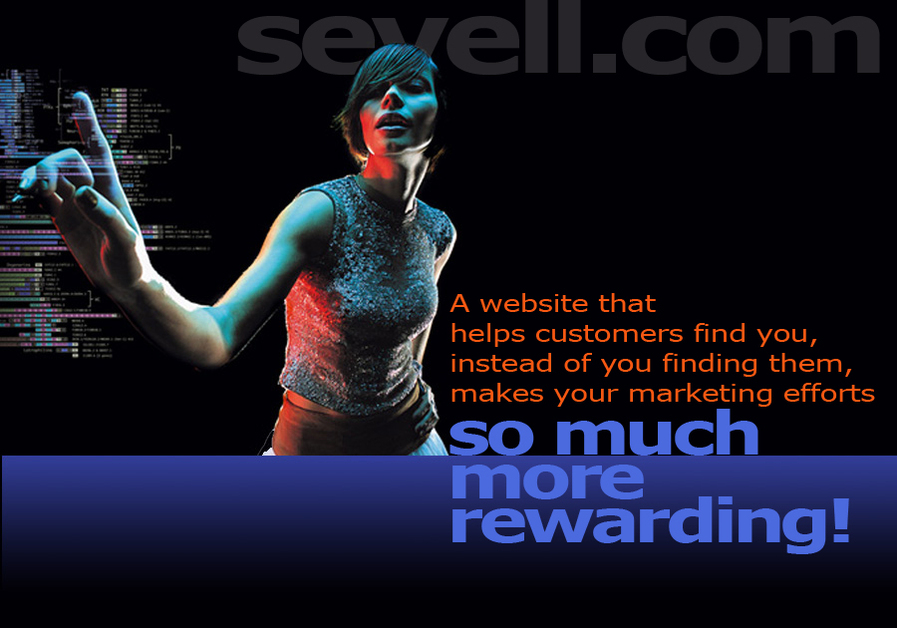 A great web design by Sevell + Sevell, Inc., Columbus, OH: