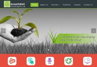 A great web design by Growthwell Consulting Pvt Ltd, Mumbai, India: