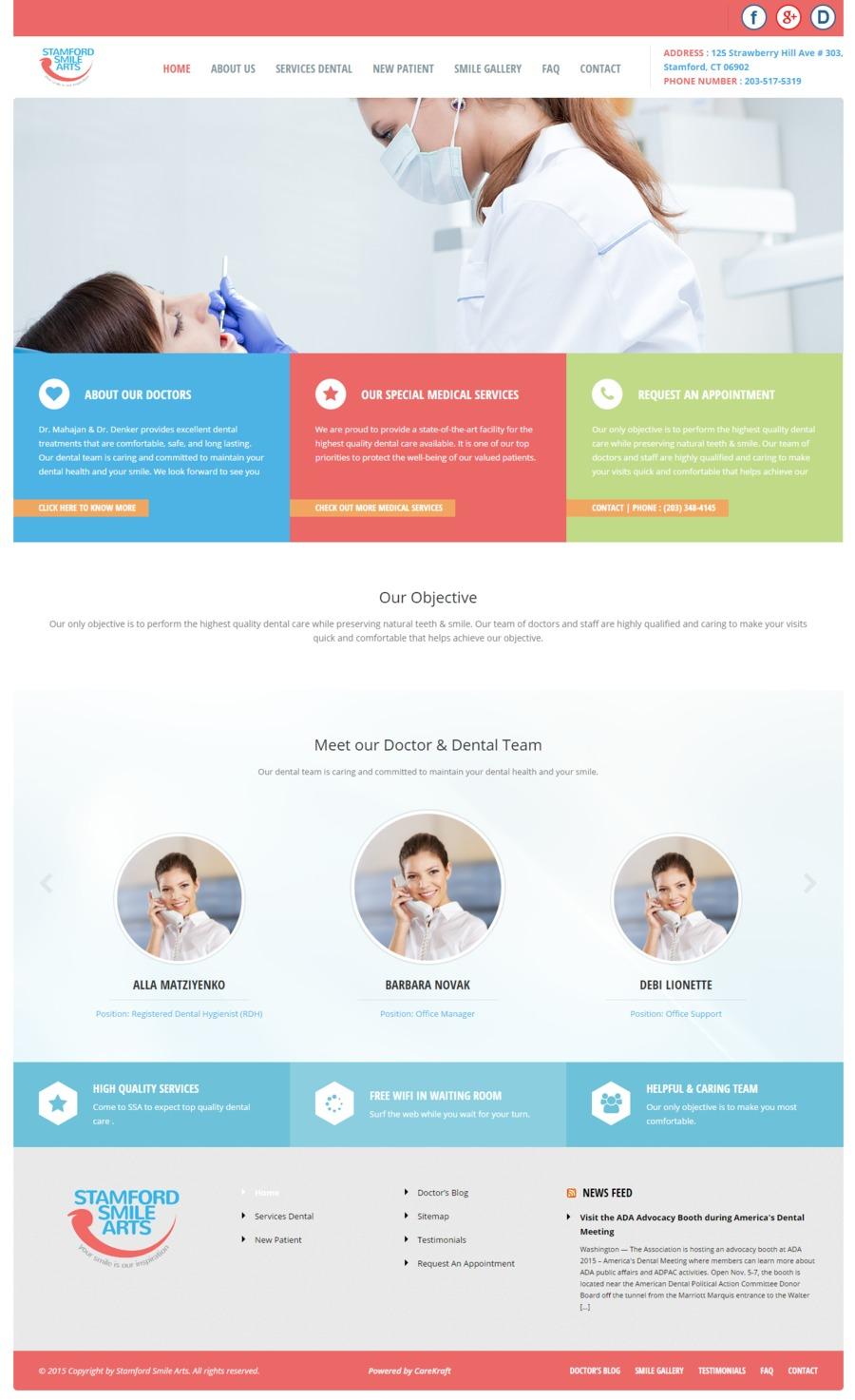 A great web design by CareKraft LLC., East Brunswick, NJ: