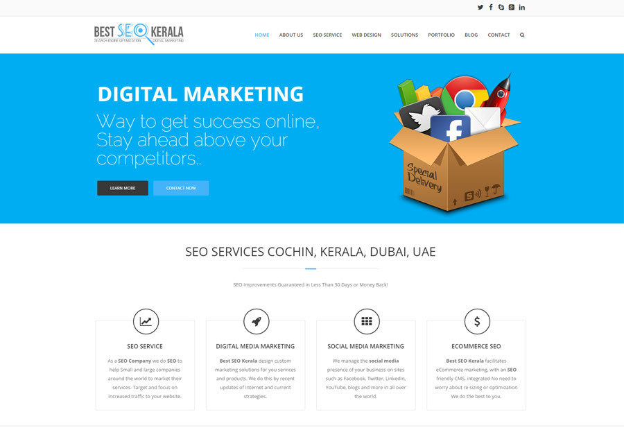 A great web design by Best SEO Kerala, Cochin, India:
