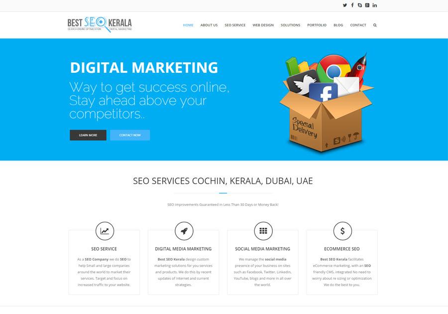 A great web design by Best SEO Kerala, Cochin, India: