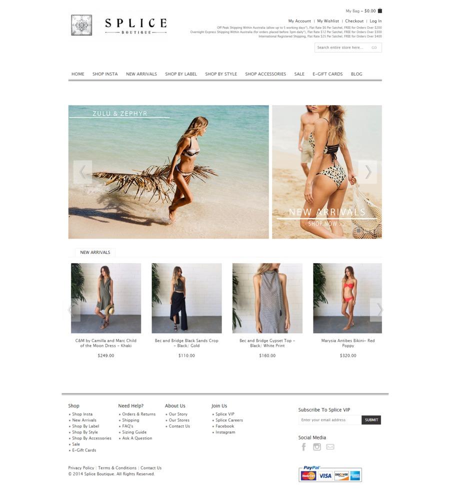 A great web design by TechyMonkey, San Fransisco, CA: