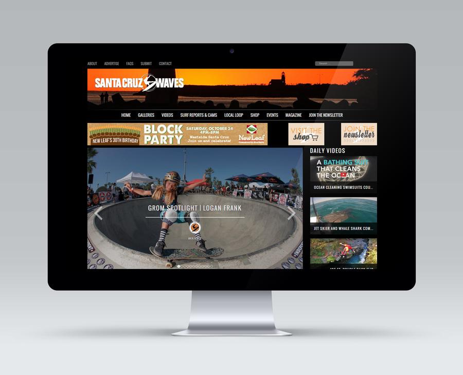 A great web design by Jabico, Santa Cruz, CA: Website, Social/Community , Entertainment , PHP