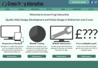A great web design by Green Frog Interactive, Rotherham, United Kingdom: Responsive Website, Portfolio , Internet , PHP