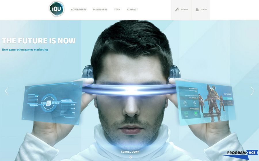 A great web design by Program-Ace, Kharkiv, Ukraine: