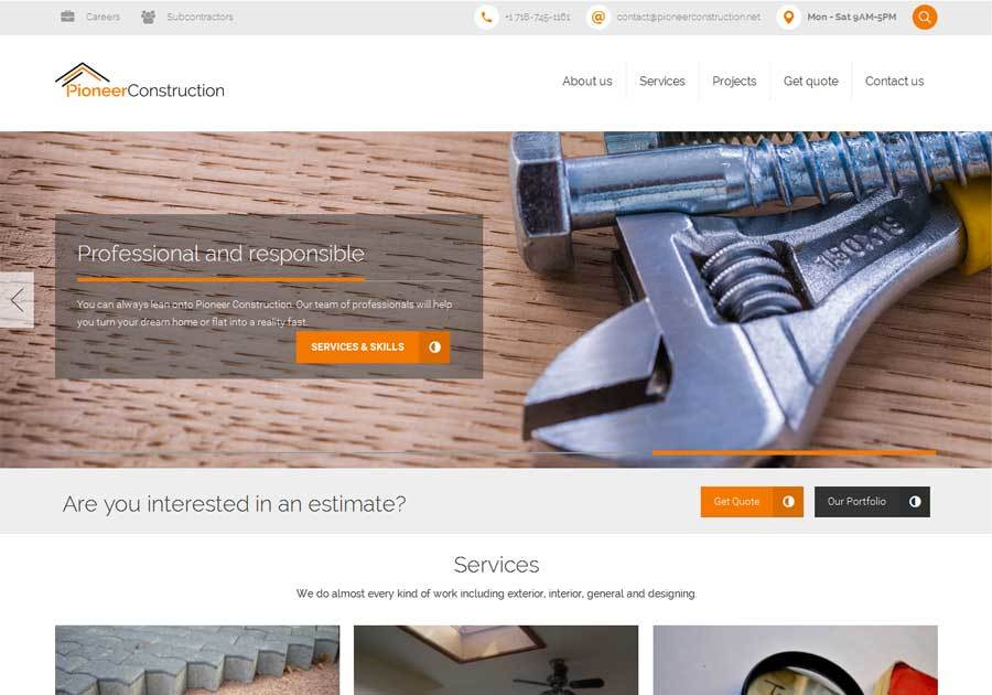 A great web design by Ultimativetech, Faisalabad, Pakistan: Responsive Website, Portfolio , Construction , Wordpress