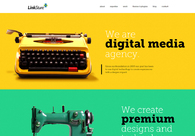 A great web design by LinkSture Technologies PVT LTD, Ahmedabad, India: Responsive Website, Portfolio , Service , PHP