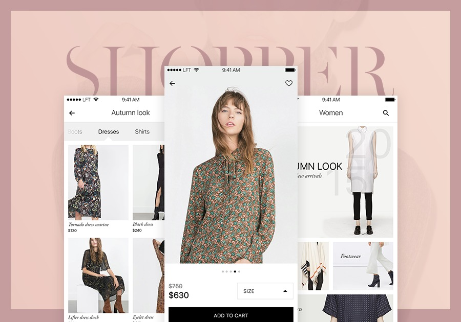 A great web design by Luft, Odessa, Ukraine: E-Commerce , Consumer Products