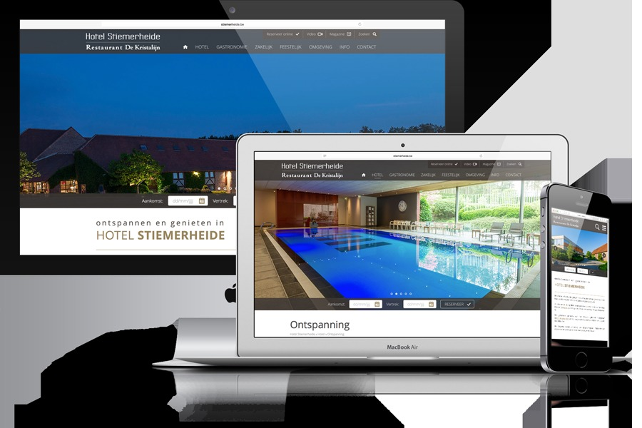 A great web design by Original Media, Antwerp, Belgium: