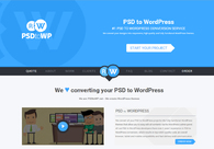 A great web design by PSDtoWP, Groningen, Netherlands: Responsive Website, Portfolio , Internet , PHP