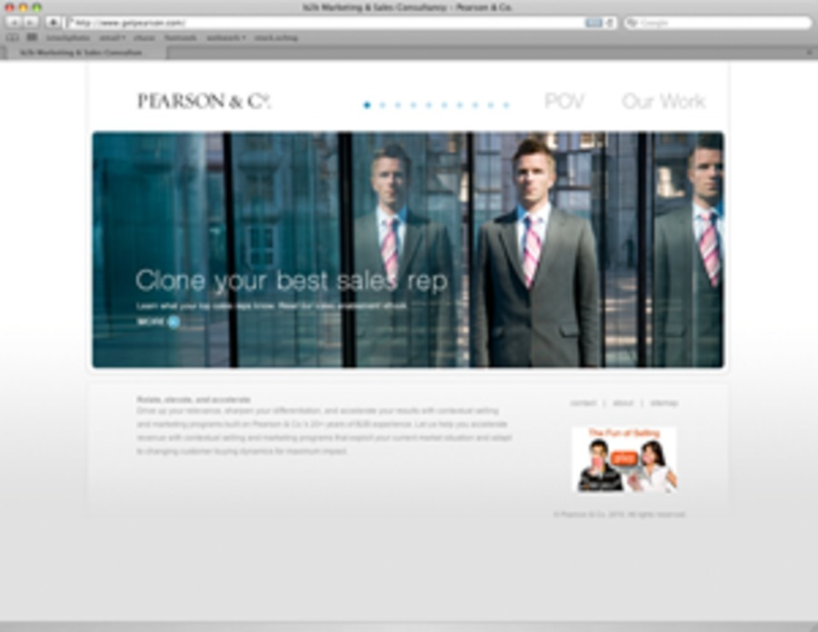A great web design by rodenbush design, Los Angeles, CA: