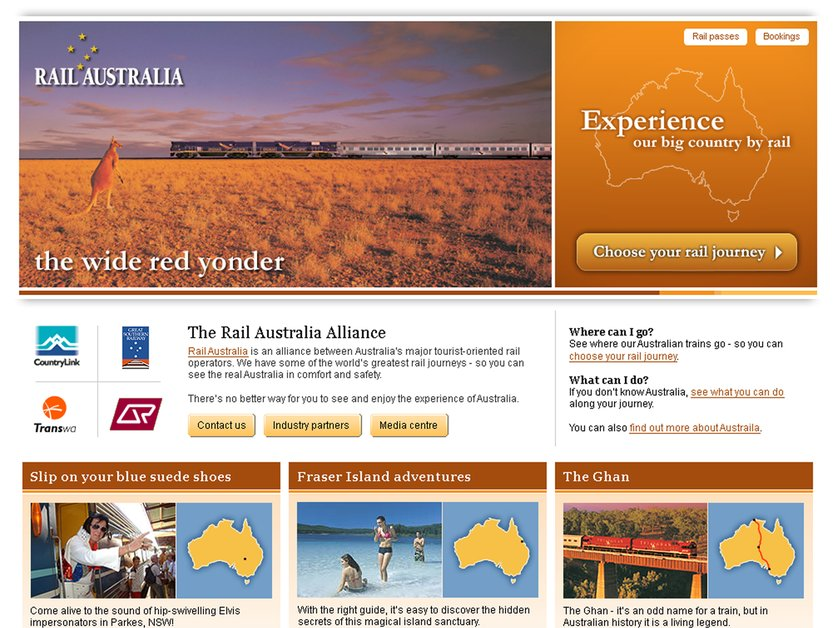 A great web design by James Mansfield, Melbourne, Australia: