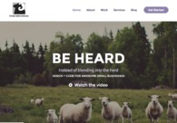 A great web design by Four Ewes Design, Toronto, Canada: