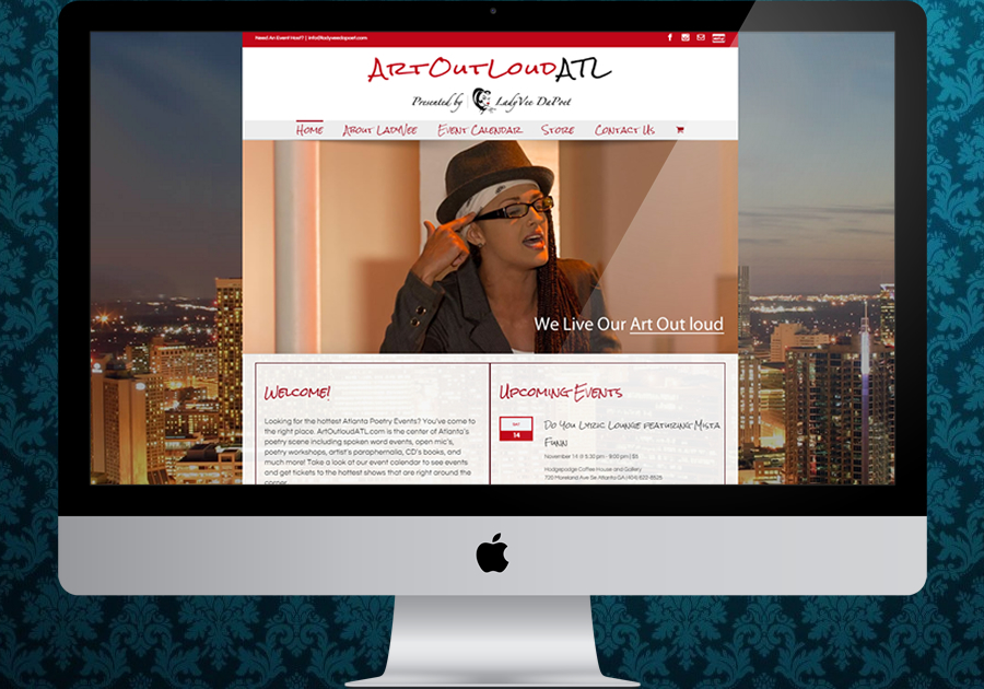 A great web design by Vision Ignited , Atlanta, GA: Responsive Website, Blog , Entertainment , Wordpress