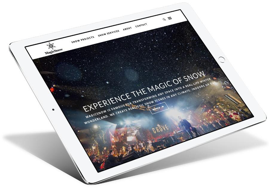 A great web design by Liquify Web Design Services, Los Angeles, CA: Responsive Website, Marketing Website , Entertainment , Wordpress