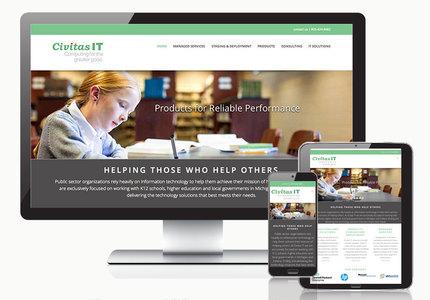 A great web design by Slant Communications, Grand Rapids, MI: Responsive Website, Marketing Website , Consulting , Wordpress