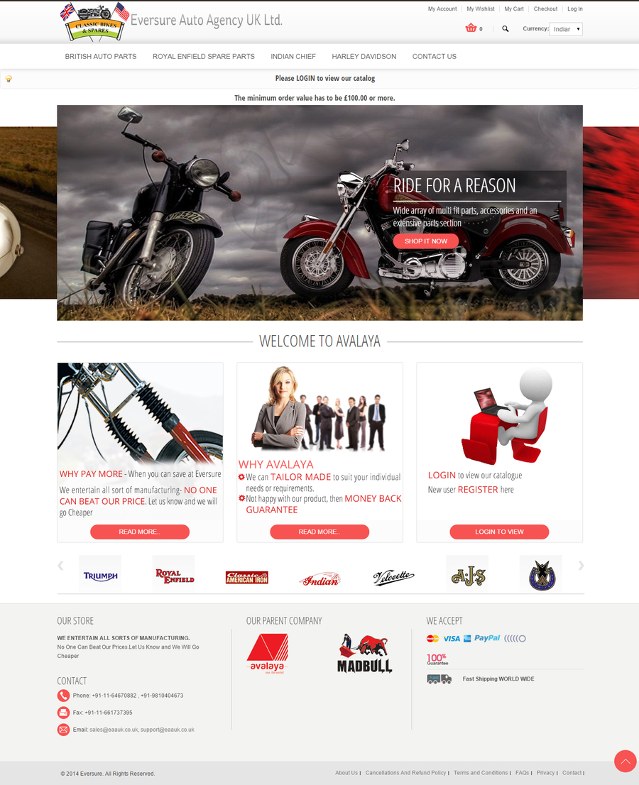 A great web design by Acmegraphix, New Delhi, India: