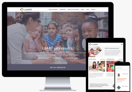 A great web design by Raygun, Los Angeles, CA: Responsive Website, Marketing Website , Education , Wordpress