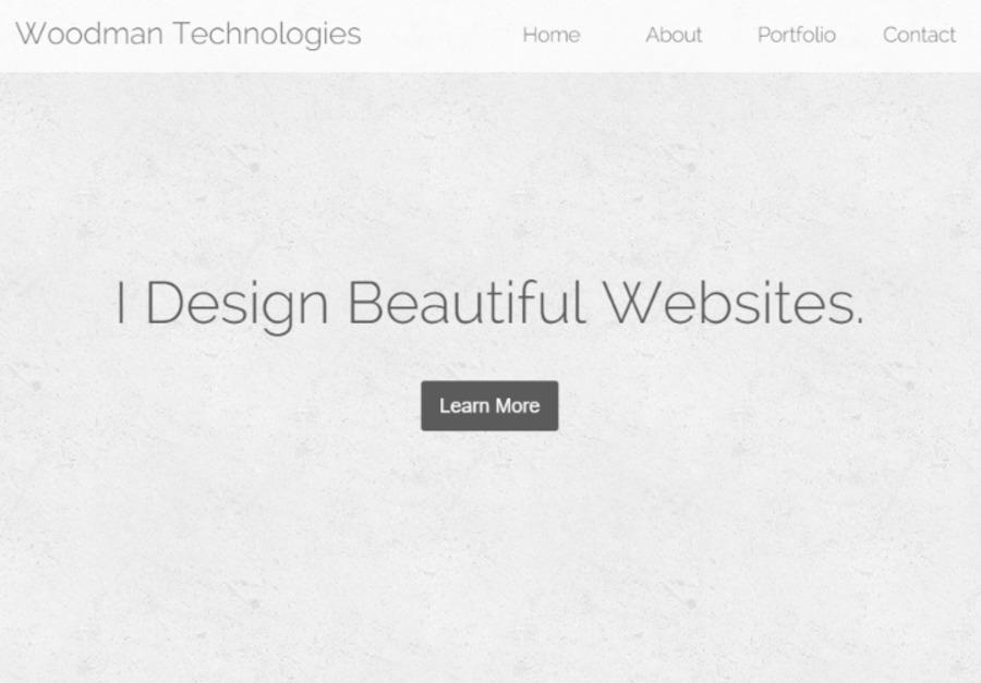A great web design by Woodman Technologies, Cary, NC:
