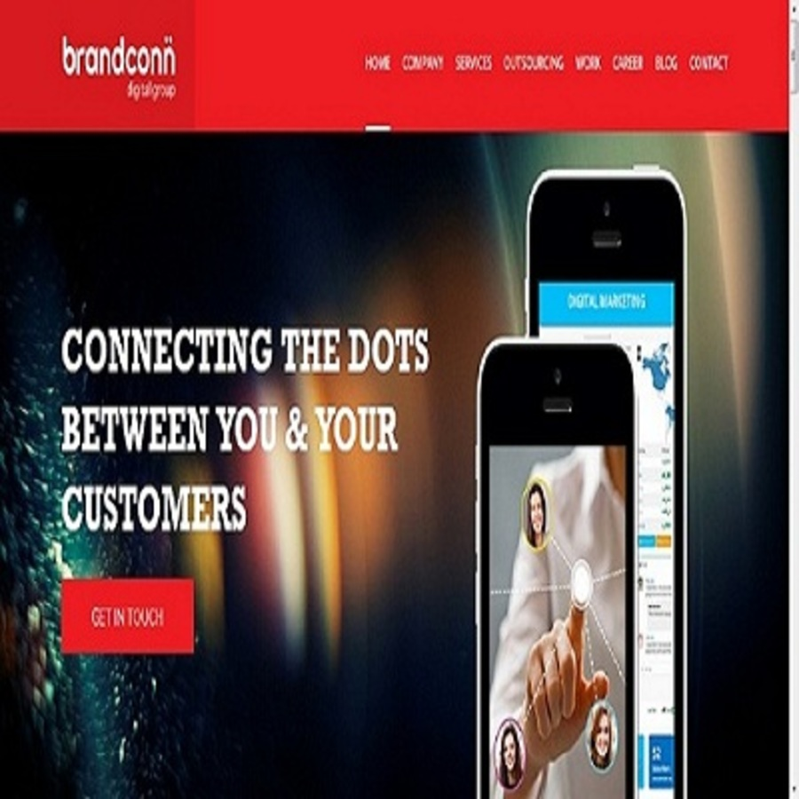 A great web design by Brandconn Digital Pvt Ltd, Noida, India: