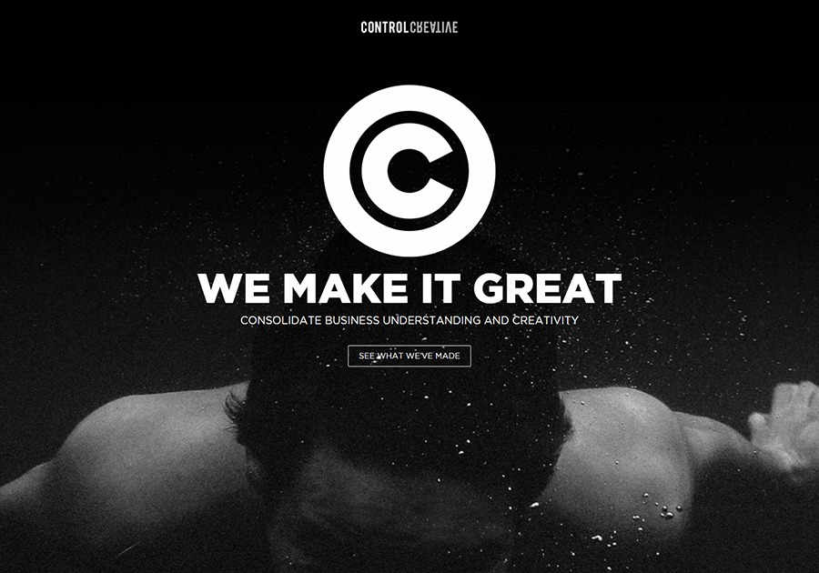 A great web design by Control Creative, Belgrade, Serbia: