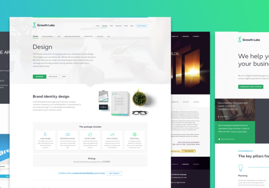 A great web design by Growth Labs Marketing, Billings, MT: