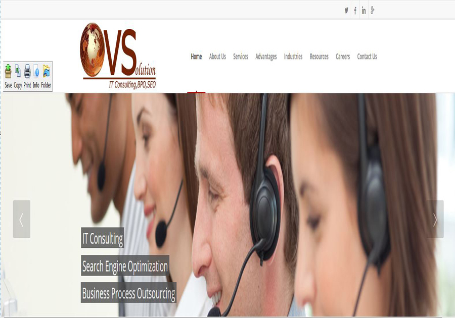 A great web design by ovsolution, India, UT: