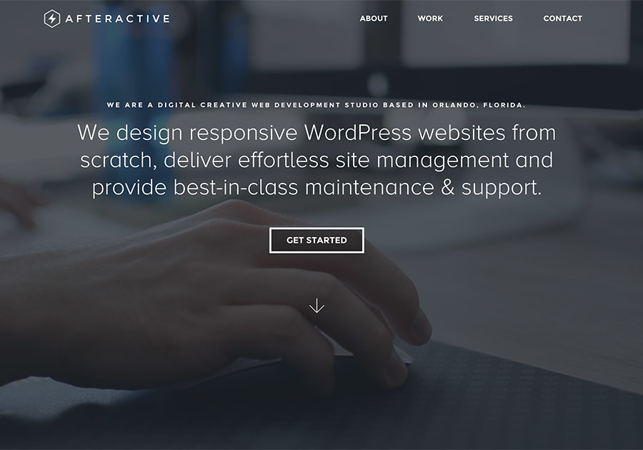 A great web design by Afteractive, Orlando, FL: