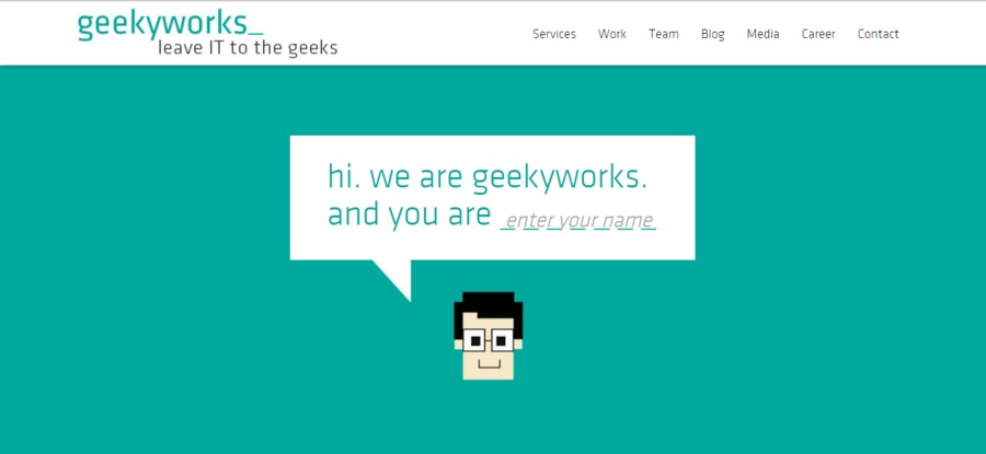 A great web design by Geeky Works specializes in the design and development of Websites and Mobile Applications, Pune, India: