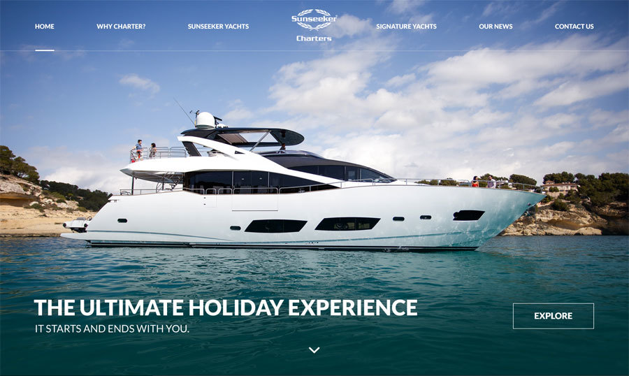 A great web design by Authentic Style, Bournemouth, United Kingdom: Responsive Website, Marketing Website , Travel , Wordpress