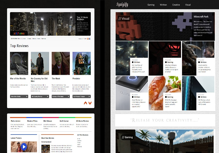 A great web design by Adam Hauser, Bournemouth, United Kingdom: