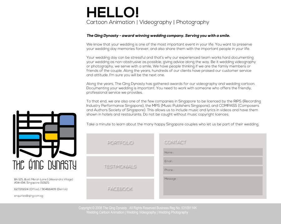 A great web design by eShine Marketing, Jaipur, India: