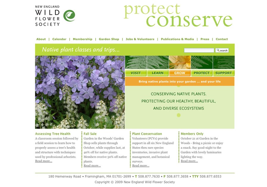 A great web design by Sametz Blackstone Associates, Boston, MA:
