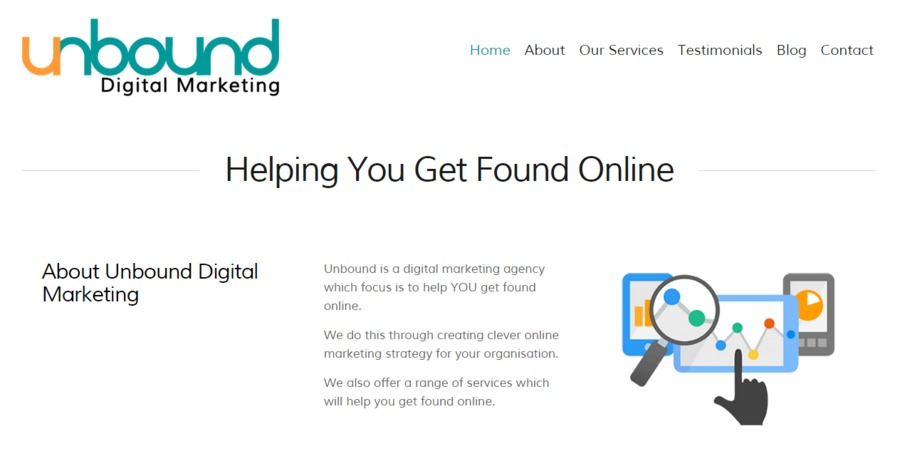 A great web design by Unbound Digital Marketing, Hamilton, New Zealand: