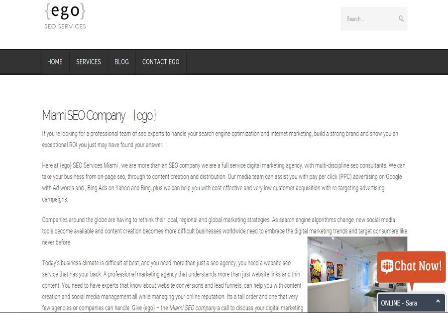 A great web design by Twinglin , Miami, FL: