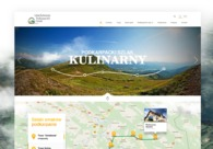 A great web design by Moonbite Agency, Poland, ME: