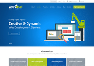 A great web design by Webesol Technologies, Madurai, India: