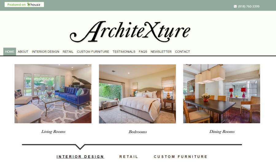 A great web design by High Arte, West Hollywood, CA: