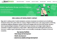 A great web design by MageSpider, Ahmedabad, India: