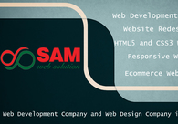 A great web design by Sam Web Solution, Bangalore, India: Responsive Website, Marketing Website , Other, PHP