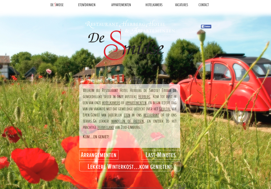 A great web design by Ivo Vleugels | pdmedia, Maastricht, Netherlands: