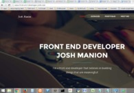 A great web design by Josh Manion, Seattle, WA: