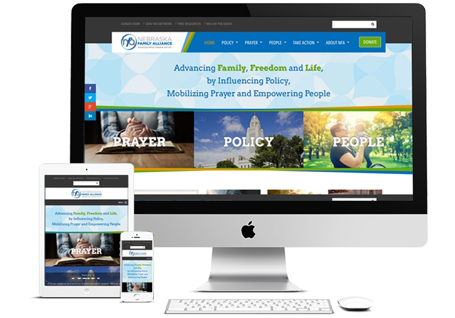 A great web design by Kevin Brown Design, Omaha, NE: Responsive Website, Social/Community , Non Profit , Wordpress