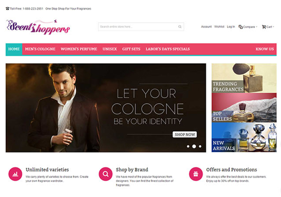 A great web design by Infomatiz Technology Solutions, New Jersey, Trinidad And Tobago: