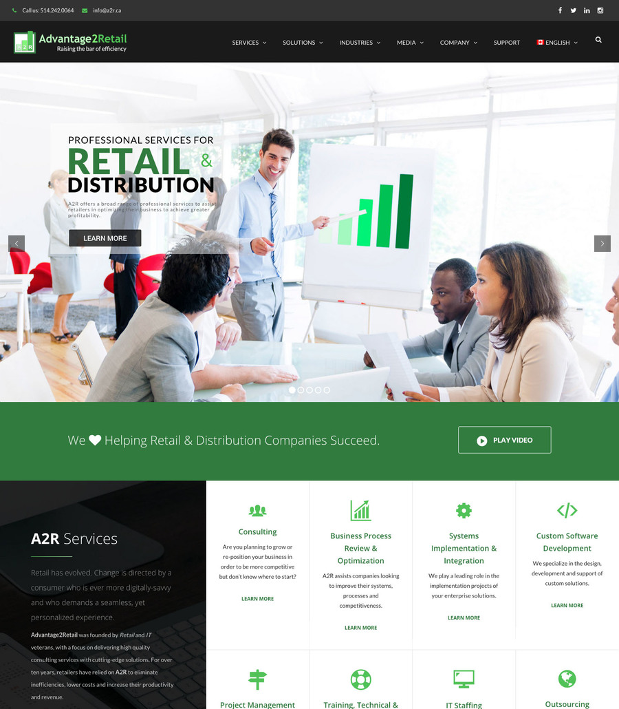 A great web design by Web Heads, Detroit, MI: Responsive Website, Marketing Website , Retail , Wordpress
