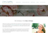 A great web design by Emma Englishby, Berlin, Germany: Responsive Website, Portfolio , Wordpress