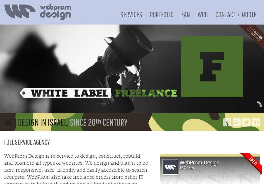 A great web design by WebProm Design, Tel Aviv, Israel: Responsive Website, Marketing Website , Internet , Wordpress