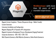 A great web design by Web Developer (Magento /Wordpress) , Dallas, TX: