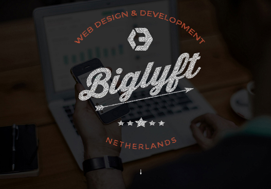 A great web design by BIGLYFT, Amsterdam, Netherlands: